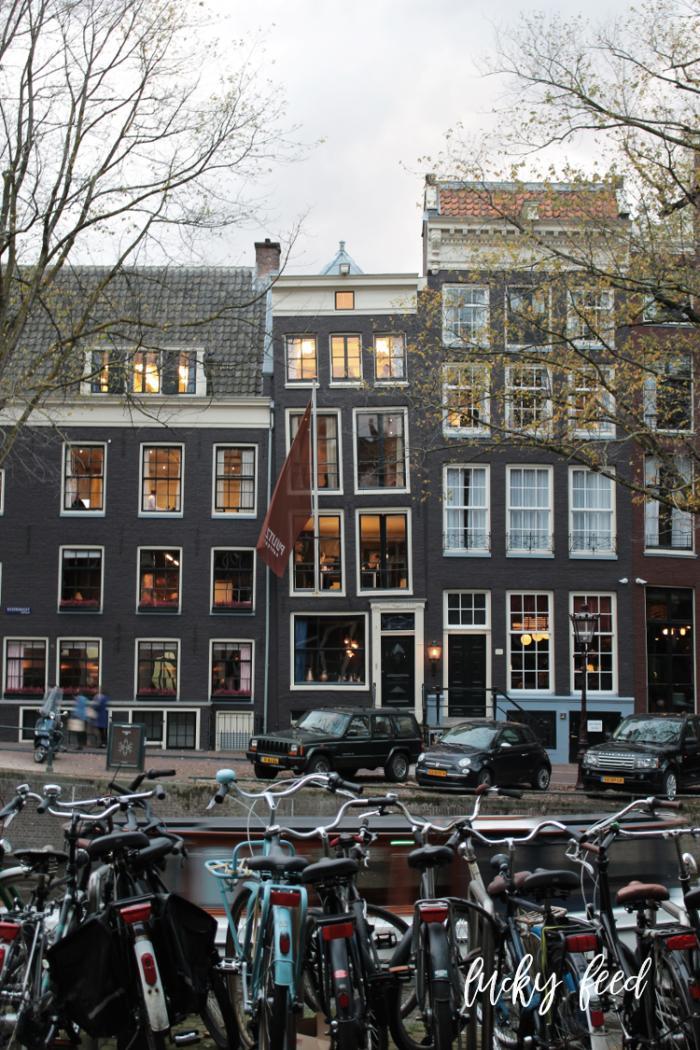 Amsterdam am Abend, Amsterdam im Herbst, Städtereise, Städtetrip
