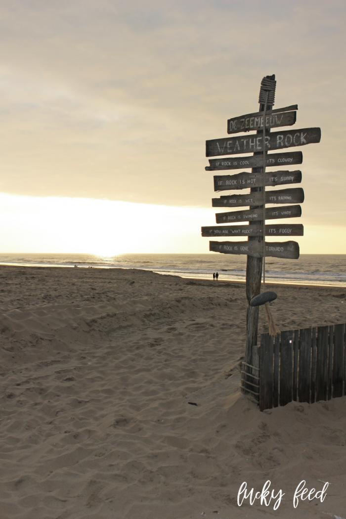 Strand Noordwijk, Strand Noordwijk Sonnenuntergang