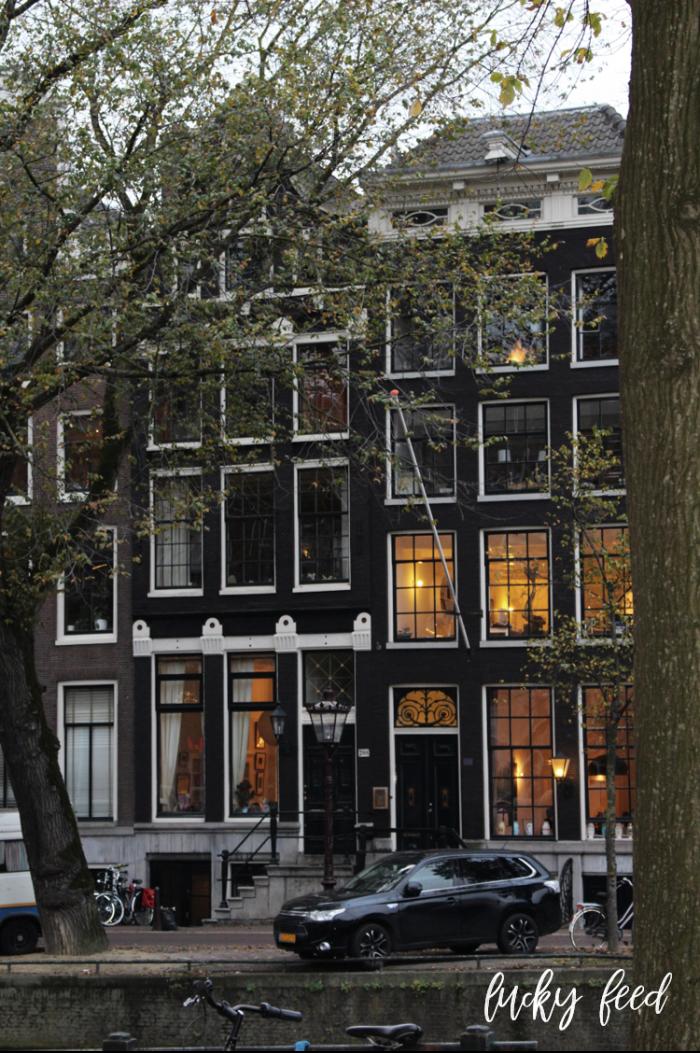 Amsterdam am Abend, Amsterdam im Herbst