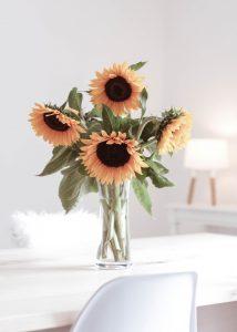 Glück, Glücksideen, Glücksgefühl, Sonnenblumen, Glücklichmacher