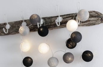 DIY, Hakenleiste, Treibholz, Hakenleiste aus Treibholz, Lightballs, Cotton Lightballs