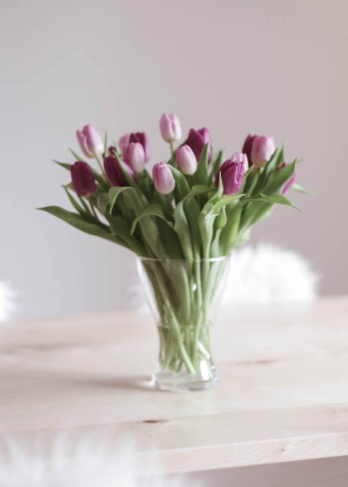 Tulpen, Tulpenliebe, Frühlingsdeko, Wohnzimmer Deko