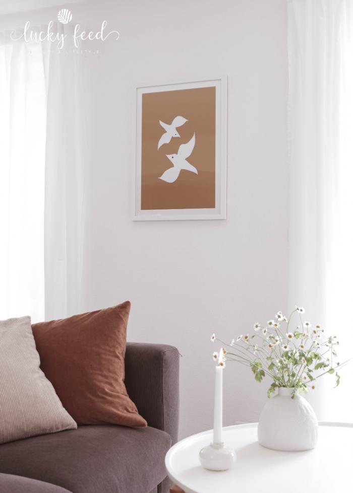 Juniqe, Juniqeartshop, Poster, Wohnzimmer, skandinavischer Stil, skandinavisch Wohnen