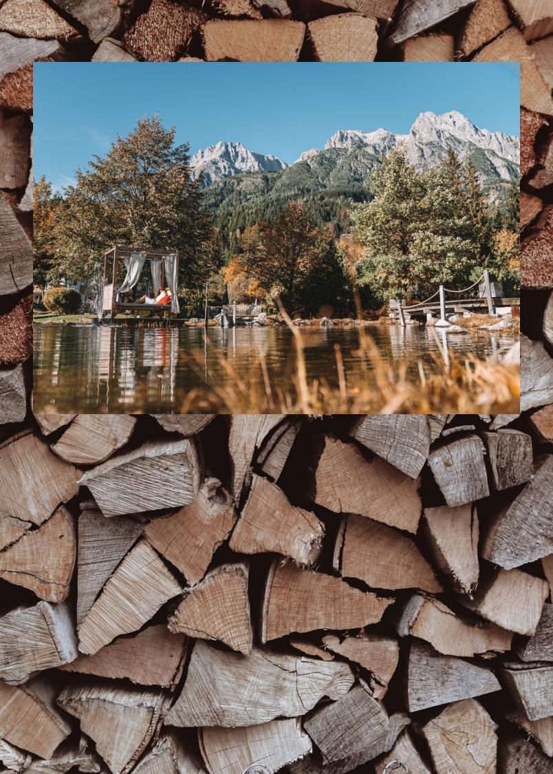 Glücksmomente im Forsthofgut Naturhotel in Leogang