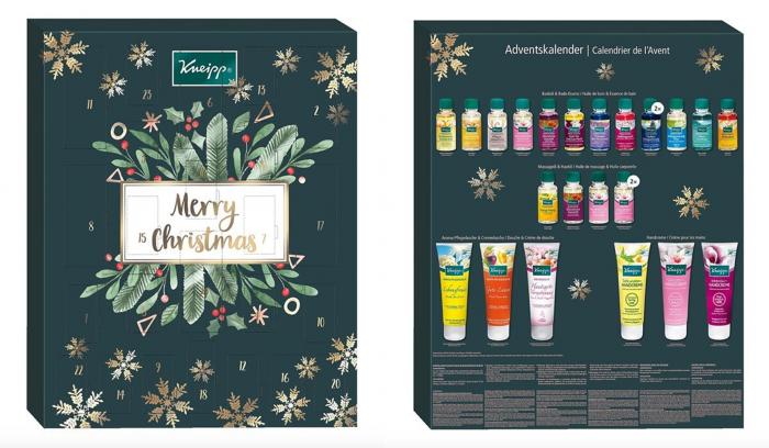 Adventskalender, Beauty Adventskalender, Adventskalender für Frauen, Naturkosmetik Adventskalender, Kneipp Adventskalender