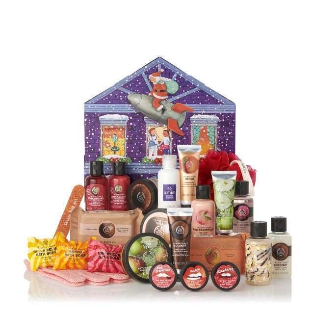 Adventskalender, Beauty Adventskalender, Adventskalender für Frauen, Naturkosmetik Adventskalender, the body shop Adventskalender