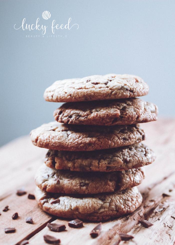 amerikanische Chocolate Chip Cookies, Chocolate Chip Cookies, Rezept Chocolate Chip Cookies, Rezept Cookies, Rezept Kekse, Rezept Kekse mit Schokotröpfchen, Kekse Schokolade Resteverwertung, Schokolade Resteverwertung, Rezept Schokoladenkekse, Backliebe