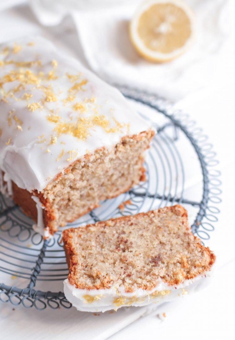 Rezept für zitronigen Zitronen-Mandel-Kuchen