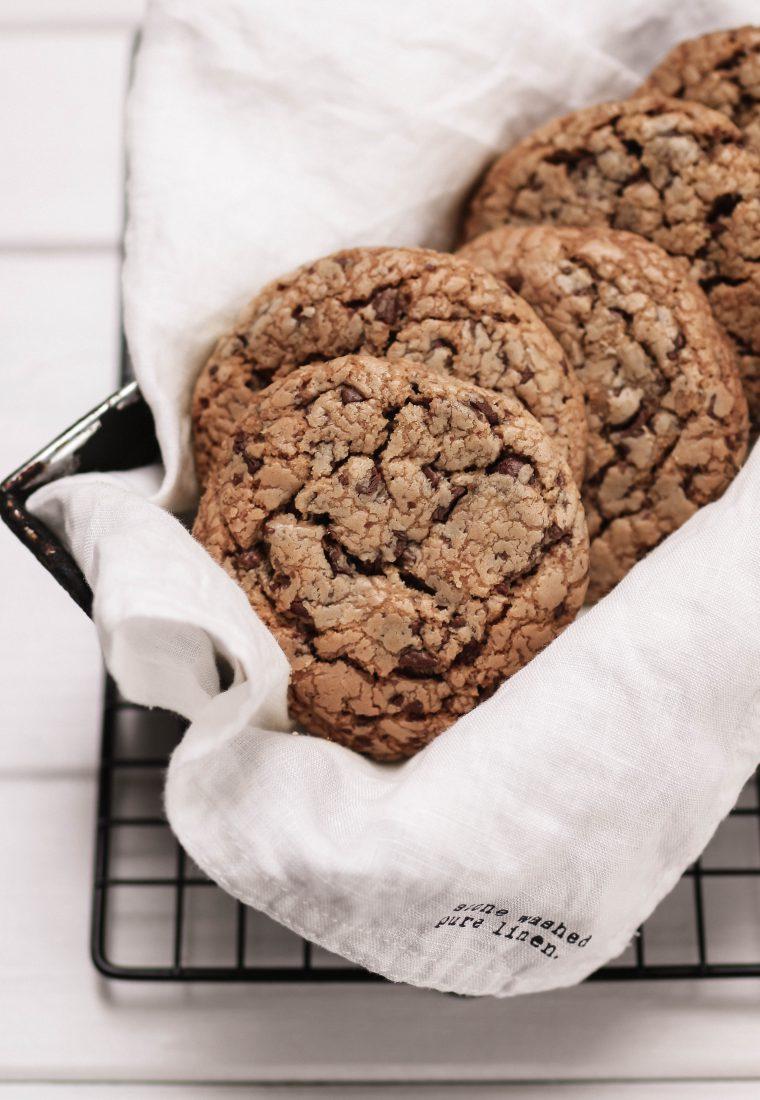 Backliebe: Chocolate Chip Cookies nach amerikanischem Rezept