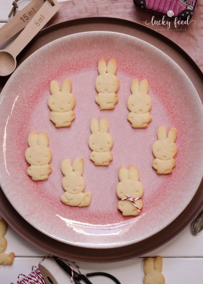 Miffy Kekse, Miffy, Miffy Cookies, Butterkekse, Butterkekse Rezept, Miffy cookies recipe, Ausstechkekse Rezept, Kekse
