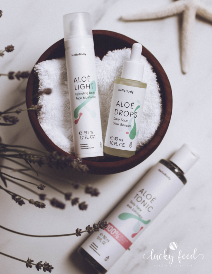 HelloBody, Kosmetik, Aloe Tonic, Aloe Light, Aloe Drops